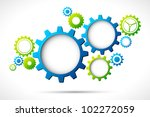 illustration of abstract web... | Shutterstock .eps vector #102272059