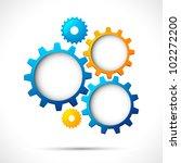 illustration of abstract web... | Shutterstock .eps vector #102272200
