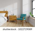 modern mid century and vintage... | Shutterstock . vector #1022729089
