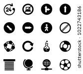 solid vector icon set   24...   Shutterstock .eps vector #1022743186