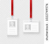 identification personal blank ...   Shutterstock .eps vector #1022749576