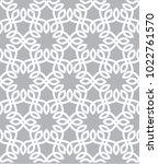 vector ornamental pattern | Shutterstock .eps vector #1022761570