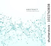 data visualization concept.... | Shutterstock . vector #1022763838