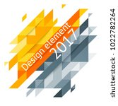minimalistic design  creative... | Shutterstock .eps vector #1022782264