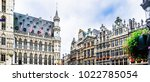 view on grand place of... | Shutterstock . vector #1022785054