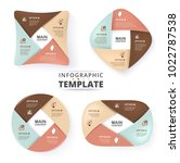infographic template for... | Shutterstock .eps vector #1022787538