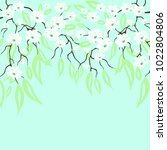 vector background with white... | Shutterstock .eps vector #1022804806