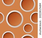 seamless round pattern. circle... | Shutterstock .eps vector #1022815684