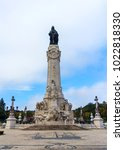 monument to the marquis of... | Shutterstock . vector #1022818330