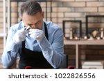 jeweler working in workshop   Shutterstock . vector #1022826556