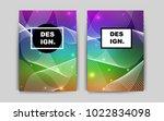 dark multicolor vector pattern...