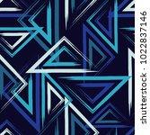ethnic boho seamless pattern.... | Shutterstock .eps vector #1022837146