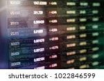 cryptocurrency trading screen ... | Shutterstock . vector #1022846599