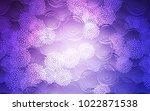 light pink  blue vector... | Shutterstock .eps vector #1022871538