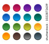 multicolored buttons circles... | Shutterstock .eps vector #1022872639