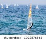 nahariyya  israel   februar 10  ... | Shutterstock . vector #1022876563