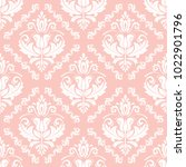 orient vector classic pattern....   Shutterstock .eps vector #1022901796