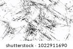 halftone grainy texture with... | Shutterstock .eps vector #1022911690