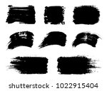 vector black paint  ink vector... | Shutterstock .eps vector #1022915404