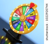 luck and fortune concept.... | Shutterstock . vector #1022920744