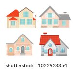 vector illustration set of... | Shutterstock .eps vector #1022923354