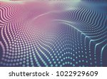 abstract polygonal space low... | Shutterstock . vector #1022929609