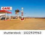 amboy  california  usa  ... | Shutterstock . vector #1022929963