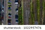 Aerial Perpendicular View Of...