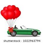 green modern opened cartoon...   Shutterstock .eps vector #1022963794