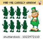 leprechaun. find the correct... | Shutterstock .eps vector #1022972110