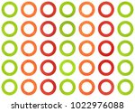 watercolor red  green and... | Shutterstock . vector #1022976088