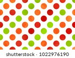 watercolor red  green and... | Shutterstock . vector #1022976190