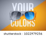 concept poster of your... | Shutterstock .eps vector #1022979256