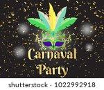 event brazil carnival design on ... | Shutterstock .eps vector #1022992918