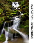 Cascading Waterfall During...