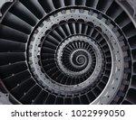 repetitive metallic industrial...   Shutterstock . vector #1022999050