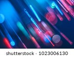 Bright and colorful concept background from fiberglass. - stock photo