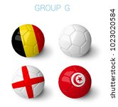 russia 2018 groups group g.... | Shutterstock . vector #1023020584