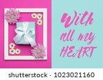 happy mother's day  women's day ...   Shutterstock . vector #1023021160