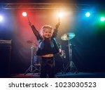 A Little Drummer Girl. Scene ...