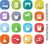 flat vector icon set   chemical ... | Shutterstock .eps vector #1023033190