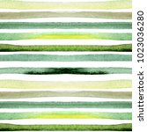 watercolor stripes seamless... | Shutterstock . vector #1023036280