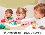 interesting lesson modeling | Shutterstock . vector #1023041956
