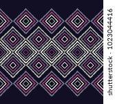 ethnic boho seamless pattern....   Shutterstock .eps vector #1023044416