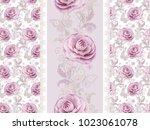 seamless pattern. decorative... | Shutterstock . vector #1023061078