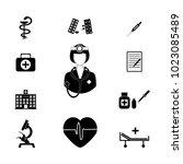 doctor vector icon | Shutterstock .eps vector #1023085489