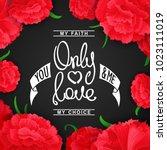 only love. my faith  my choise. ... | Shutterstock .eps vector #1023111019