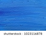 abstract blue oil painting on...   Shutterstock . vector #1023116878