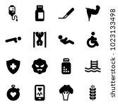 solid vector icon set   drop... | Shutterstock .eps vector #1023133498