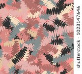 a seamless pattern of roughly...   Shutterstock .eps vector #1023147646